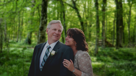 Celebrant Vow Renewals can be set in woodland in Kent or in your favourite pub in Kent