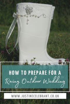 Top 10 tips to prepare for a outdoor rainy wedding